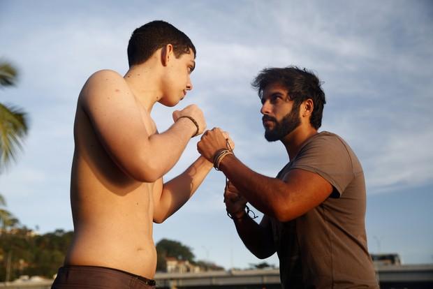 Felipe Lopes e Rennan Azevedo (Foto: Marcos Serra Lima / EGO)