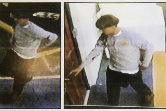 Polícia dos EUA divulga imagens do suspeito de ter matado nove pessoas em igreja na Carolina do Sul, Estados Unidos (Foto:  Charleston Police Department via AP)