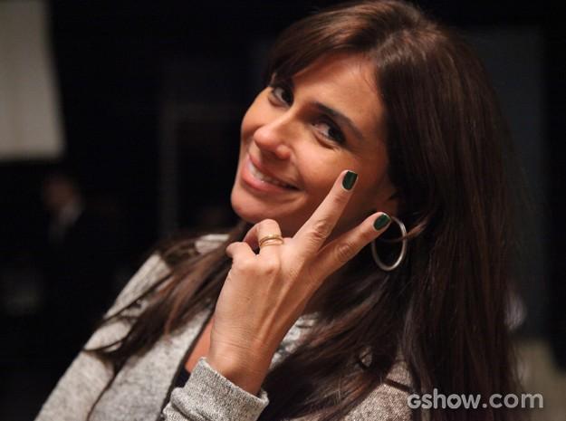 A personagem Clara conquistou milhares de seguidoras com os esmaltes (Foto: Carol Caminha / TV Globo)
