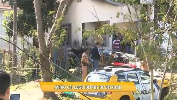 Vizinhos do Bacacheri falam sobre o medo de novas tragédias (Foto: Reprodução)