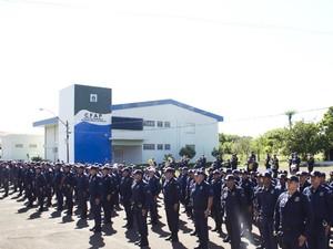Guardas municipais serão treinados para usar armas não letais em Campo Grande (Foto: Marlon Ganassin/Prefeitura de Campo Grande)