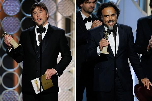 Richard Linklater ganhou a categoria no Globo de Ouro, mas isso pode ser uma vantagem para Iñárritu (Foto: Getty Images)
