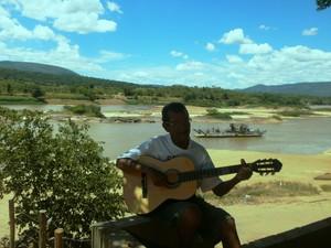 Chico Canoeiro (Foto: Marina Pereira/G1)