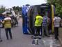 Turistas continuam internados após acidente que deixou 20 feridos no Rio