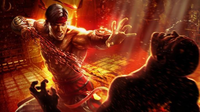 Um dos mais importantes protagonistas da série, Liu Kang pode voltar em Mortal Kombat X (Foto: Reprodução/Mortal Kombat Wikia)