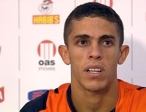gabriel paulista zagueiro do vitoria (Foto: Reprodução/TV Bahia)
