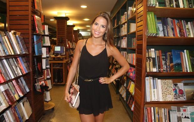 Pérola Faria em lançamento de livro no Rio (Foto: Thyago Andrade/ Foto Rio News)
