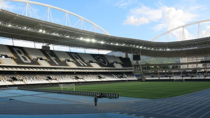 Engenhão Estádio Nilton Santos Botafogo (Foto: Daniel Mundim)