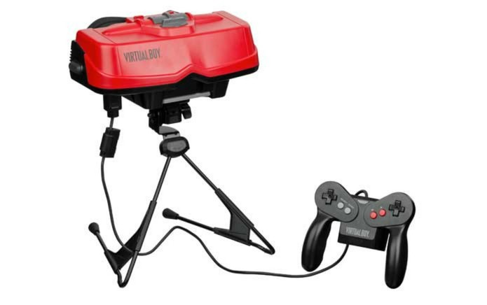Tentativa da Nintendo com realidade virtual, em 1995, foi mal sucedida  (Foto: Divulgação/Nintendo)