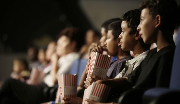 O Projeto Pipoca levará sessões de cinema para o centro da cidade, com a exibição gratuita de filmes (Foto: Fernando Pilatos)