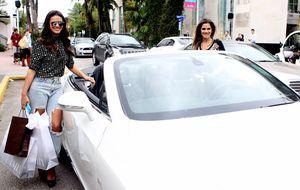 Marquezine e Tatá Werneck vão às compras em Miami com Ingrid Guimarães