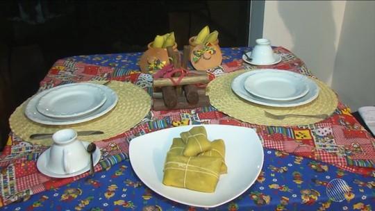 Aprenda a receita de pamonha recheada com queijo coalho