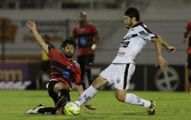 Lance de Comercial x Ituano, em Ribeirão Preto (Foto: Miguel Schincariol / Ituano FC)