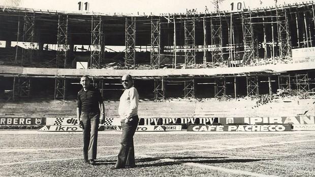 estádio Olímpico Helio Dourado 1980 (Foto: Reprodução)