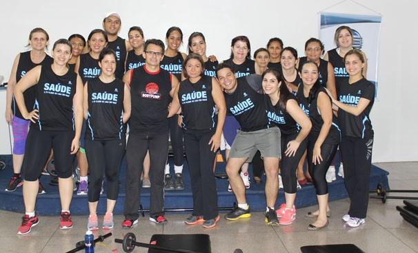 Colaboradores de vários setores participaram da atividade (Foto: Pedro Santiago)