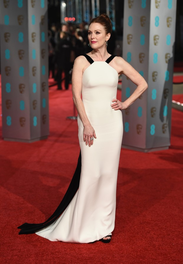 Julianne Moore no BAFTA (Foto: Getty Images)