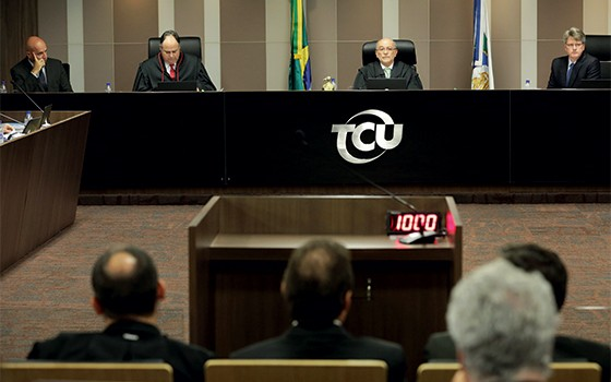 O plenário do TCU (Foto: Eraldo Peres/AP Photo)