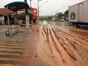 Chuva Coronel Fabriciano 2 (Foto: Patrícia Belo/G1)