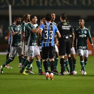 Palmeiras x Grêmio Pacaembu (Foto: Marcos Ribolli)