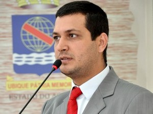 Gabriel Forneck, líder do prefeito na câmara Rio Branco Acre (Foto: Victor Augusto / Ascom Câmara de Rio Branco)