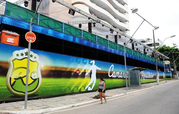 Camarote Ronaldinho  (Foto: Francisco Cepeda / AgNews-Salvador/BA)