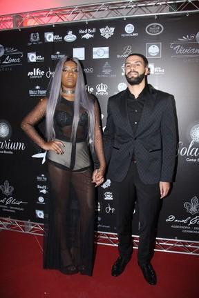 Ludmilla e o namorado,  Xerxes Frechiani (Foto: Thyago Andrade/Brazil News)