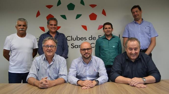 Luiz Henrique Martins Ribeiro SCClubes presidente (Foto: Paulo Scarduelli/SCClubes)