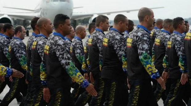 De acordo com o Ministério da Justiça, 200 homens da Força Nacional foram enviados à Vitória  (Foto: Reprodução/Agência Brasil)