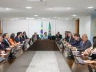 Dilma recebe governadores em reunião no Palácio do Planalto