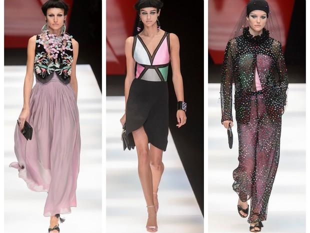 Giorgio Armani   Desfile da Semana de Moda de Milão   Primavera-verão 2018 (Foto:  IMaxTree)