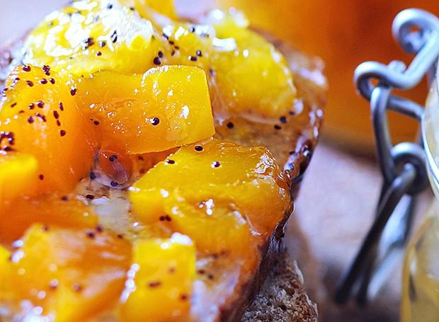 Compota de abóbora, laranja e maracujá (Foto: Eric van Lokven/StockFood)