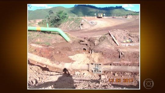 Duto de rejeitos de minério da Vale se rompe e vazamento atinge rios em MG