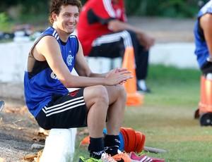 Elano treino Flamengo (Foto: Ivo Gonzalez / O Globo)