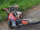 Motociclista e garupa morrem em acidente entre carro e moto em Bastos