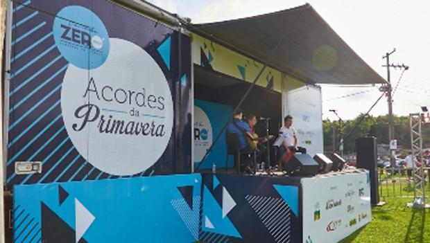 Acordes da Primavera leva música instrumental gratuita para vários lugares da cidade (Foto: Divulgação/RPC)
