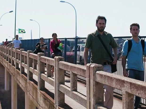 """""""Travessias"""" tem cenas gravadas em Curitiba, Cascavel, Foz do Iguaçu e em Ciudad del Este, no Paraguai (Foto: Divulgação)"""