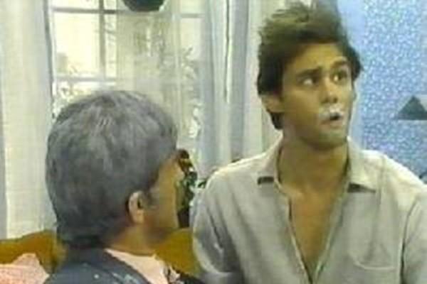 Jim Carrey em 'The Sex and Violence Family Hour' (1983) (Foto: Divulgação)