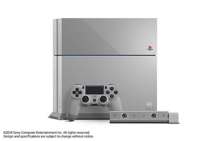 O PlayStation 4 ganhou uma edição comemorativo pelo aniversário de 20 anos do primeiro PlayStation (Foto: Divulgação)