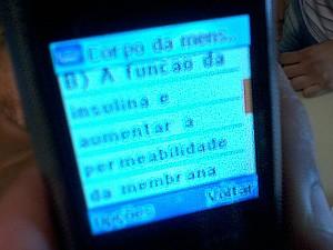 Resposta de questão em vestibular (Foto: Assessoria de Comunicação/ PF-ES)