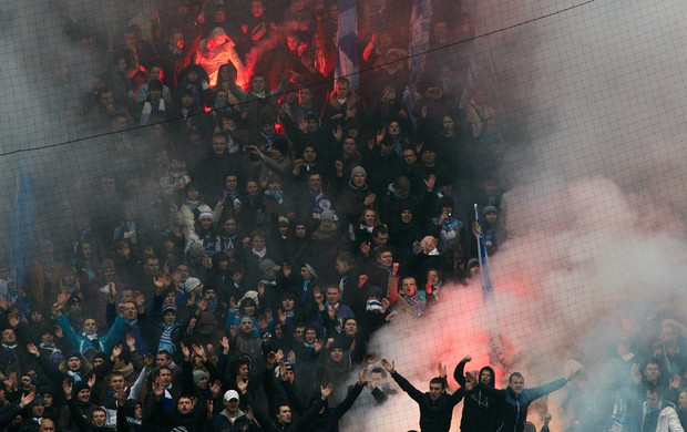 Torcida Zenit (Foto: Getty Images)