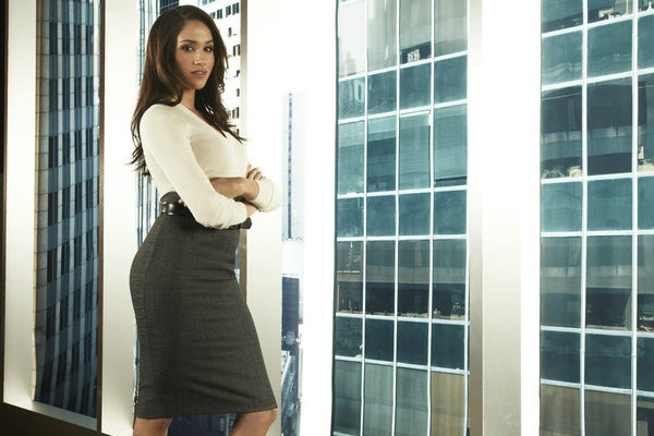 Meghan Markle como Rachel Zane na série Suits (Foto: Getty Images)