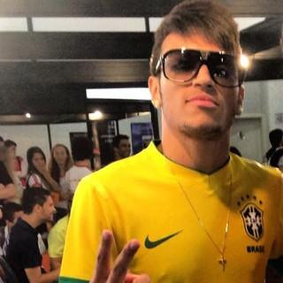 Cover do Neymar (Foto: Reprodução / Facebook)