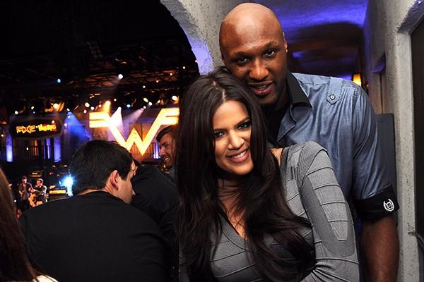 Khloé Kardashian e Lamar Odom (Foto: Getty Images)