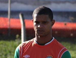 Bruno Rangel atacante Chapecoense treino (Foto: Aguante Comunicação/Chapecoense)