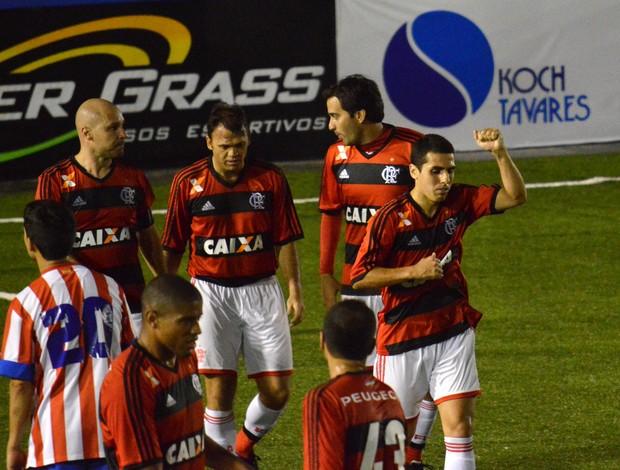 Petkovic lidera o Flamengo no Mundialito de futebol 7 (Foto: Davi Pereira/JornalF7.com)