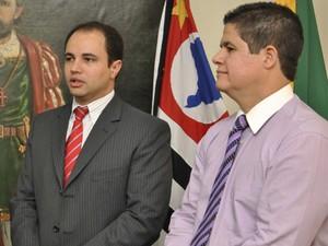 Eduardo Munhoz assume a secretaria de Saúde de São Vicente, SP (Foto: Divulgação/ Prefeitura de São Vicente)