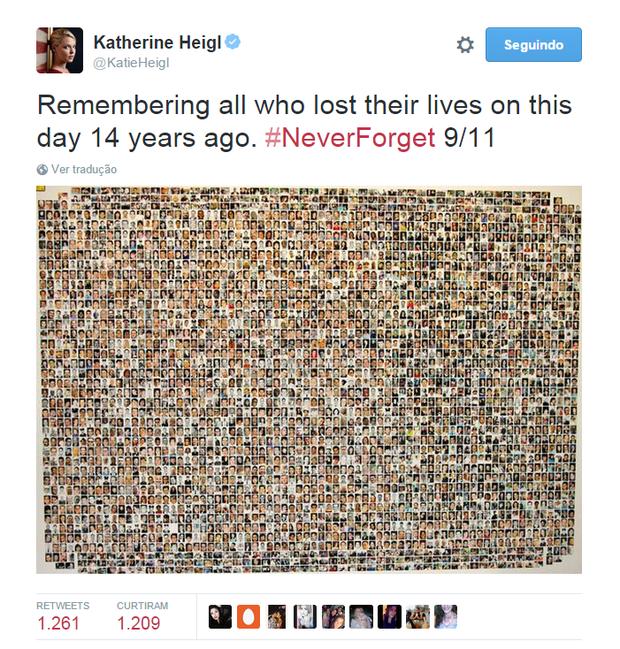 Katherine Heigl (Foto: Reprodução/Twitter)
