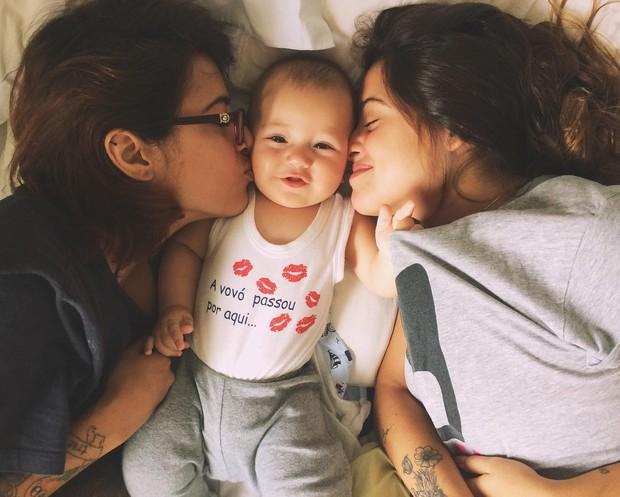 Maria Luiza, Antonio e Ana Clara Winter  (Foto: Reprodução / Instagram)