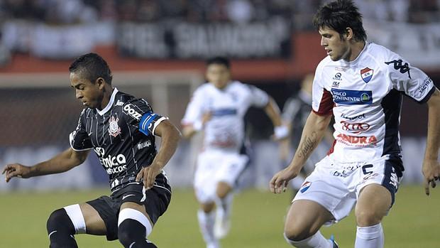 Jorge Henrique Corinthians Marcos Miers (Foto: AFP)