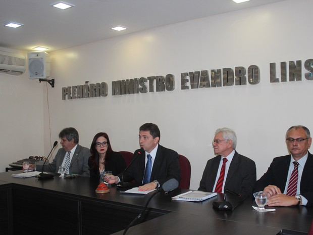 OAB-PI apresentou relatório sobre as vistorias realizadas nos presídios (Foto: Catarina Costa/G1)